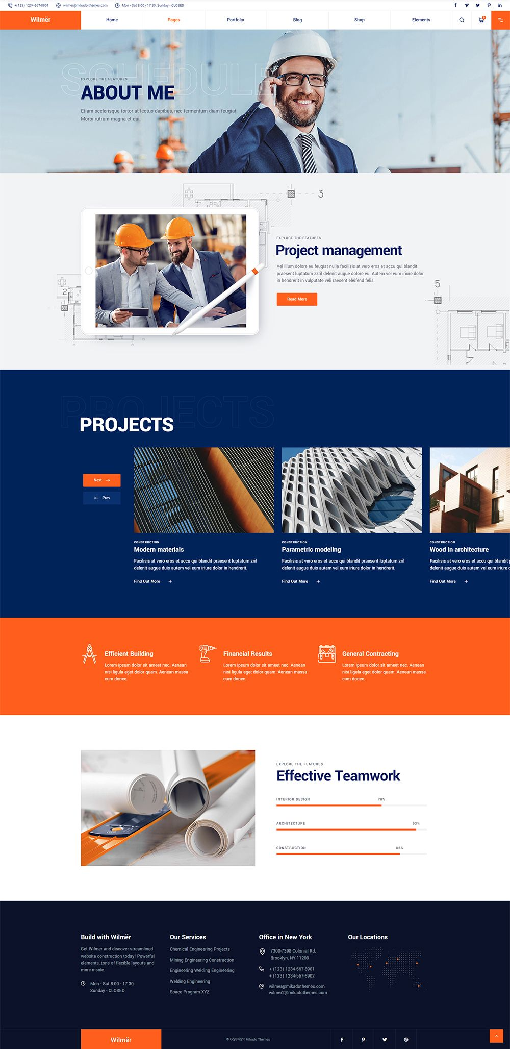 Wilmer About Me In 2020 Simple Web Design Corporate Web Design Web Layout Design