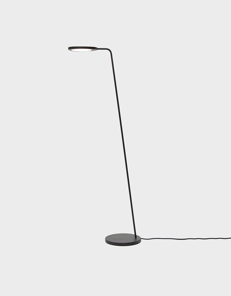 Muuto Leaf Floor Lamp In Black Floor Lamp Lamp Led Floor Lamp