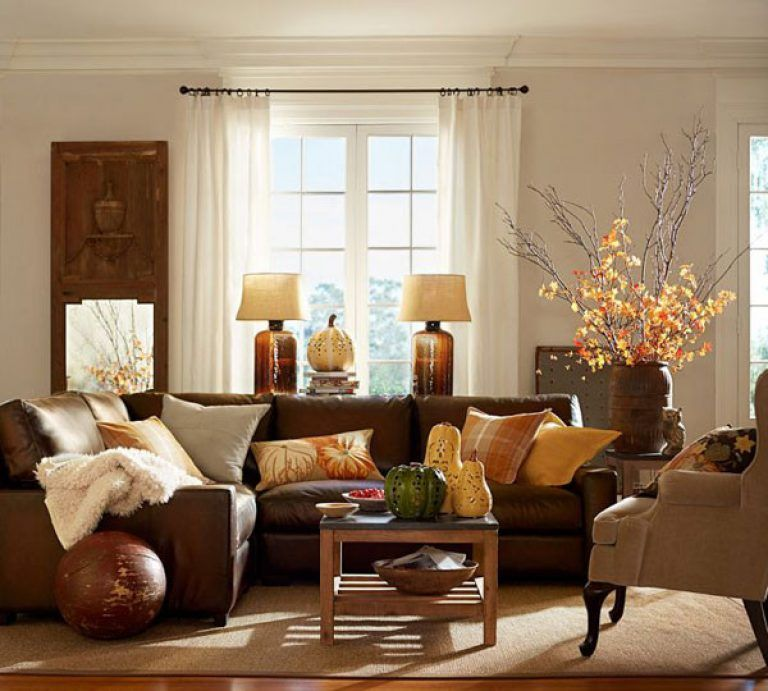 Amusing Fall Colors Decor With Red Orange Gold Brown And ...