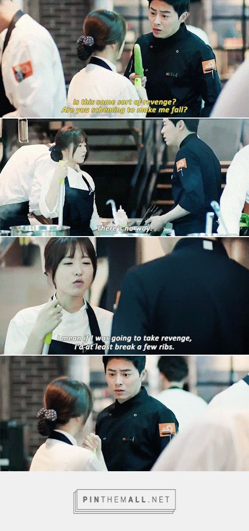 """""""If I was going to take revenge, I'd at least break a few ribs"""". Oh My Ghostess #korean #drama"""