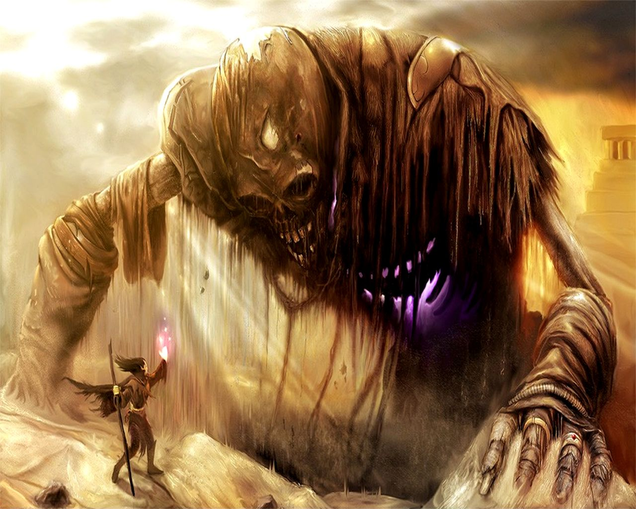 Epic Fantasy War Wallpaper