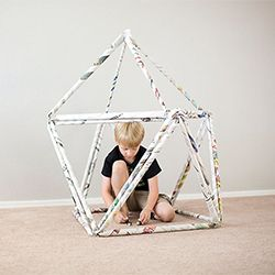 An easy and super cool way to make forts