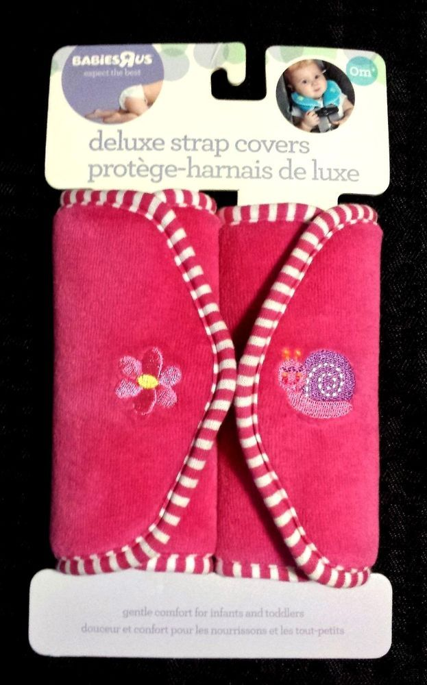 Brand New Babies R Us Deluxe Strap Covers Pink 0m+ - Car Seat ...