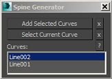 Spine Generator - 3DS Max The Script Link : http://www.wtv3d.org/t21484-spine-generator-3ds-max-script