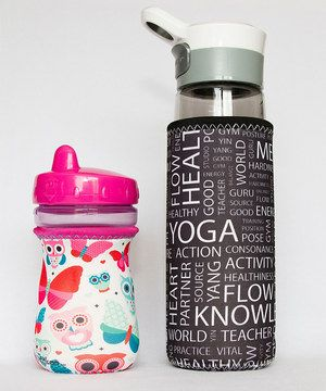 Loving this Butterfly Bottle Sleeve Set on #zulily! #zulilyfinds