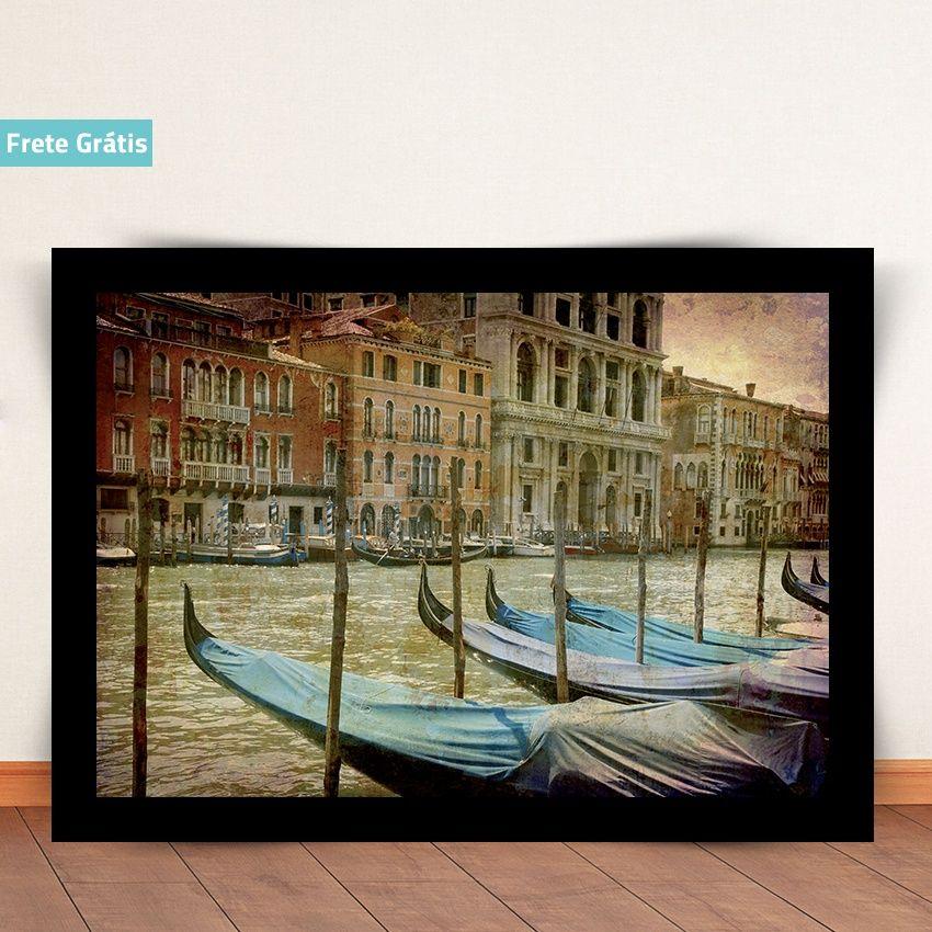 Grand Canal Venice | Tegru Posters e Adesivos  www.tegru.com.br