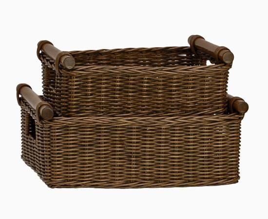 Wicker Baskets Storage