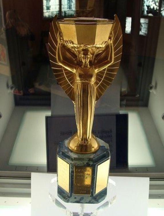 Jewels Rimet Trophy Original Fifa World Cup Trophy Copa Do Mundo Fifa