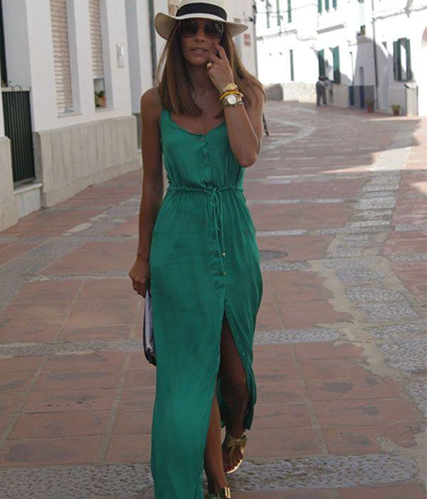 e6ba9040dac6f Maxi vestido  conheça essa tendência   MÓDA   Pinterest   Fashion ...