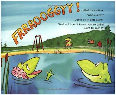 Froggy learns to swim Printables | Books for Kids: FROGGY ...