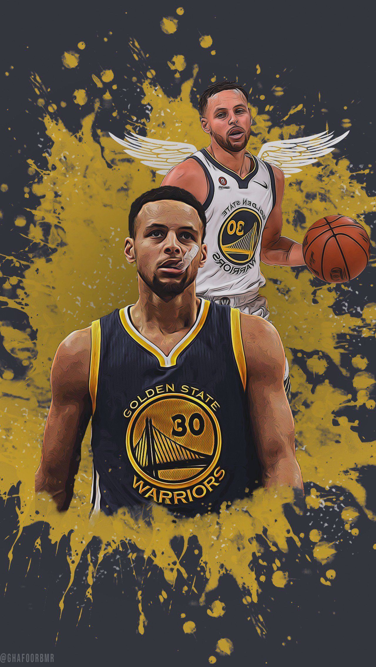 For My Gsw Supporters Out There Warriors Is The Perfect High Quality Nba Basketball Wal In 2020 Basketball Wallpaper Golden State Warriors Wallpaper Nba Basketball Art