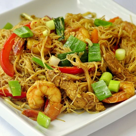 Singapore style noodles recipe singapore noodle and rock recipes one of my favorite take out chinese food meals is also one that we now forumfinder Images