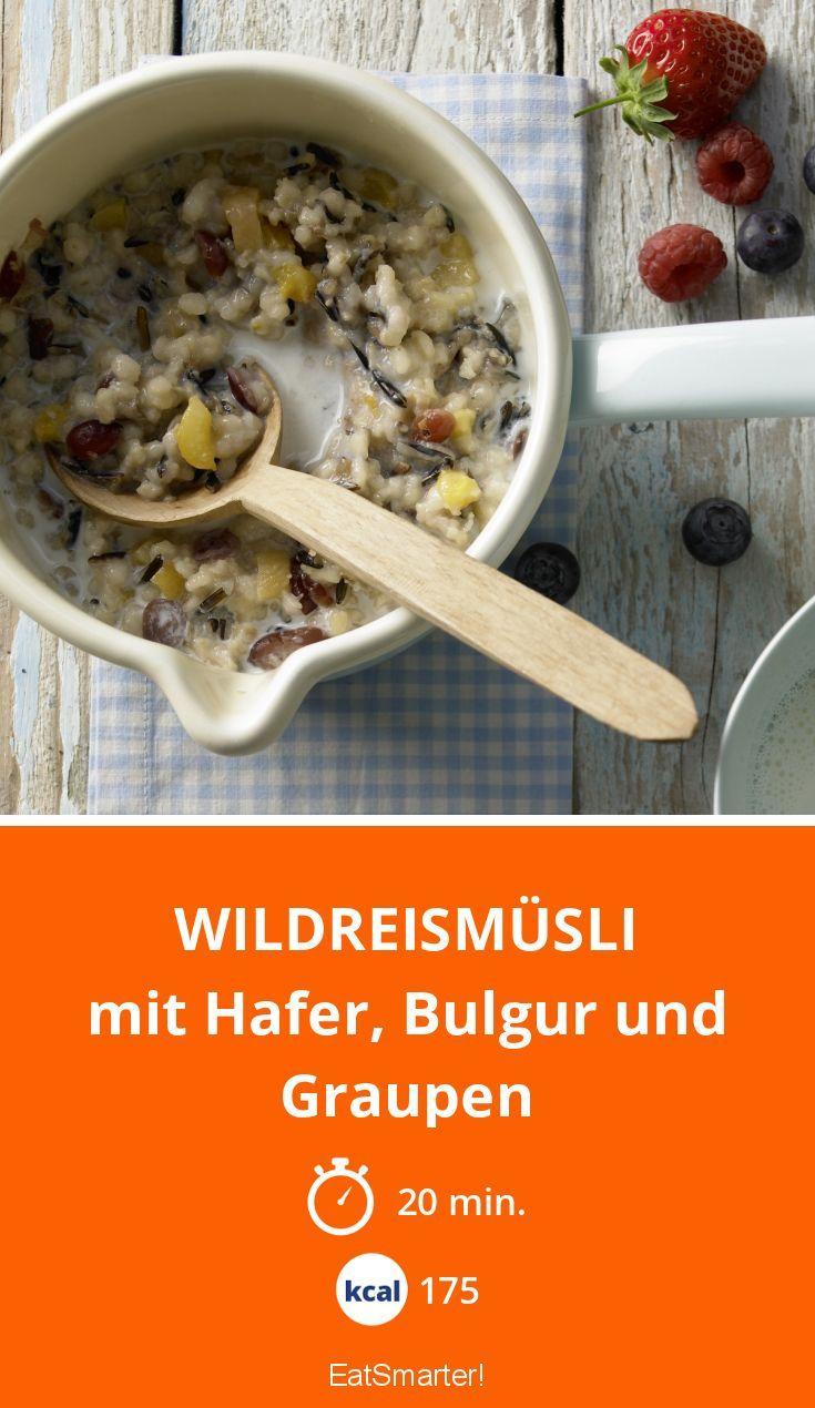 Wildreismüsli Rezept In 2019 Gesundes Frühstück Breakfast