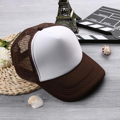 b30e103c409 1PC Fashion Unisex Women Men Vintage Hip-Hop Trucker Caps Baseball Mesh Adjustable  Hat Vintage