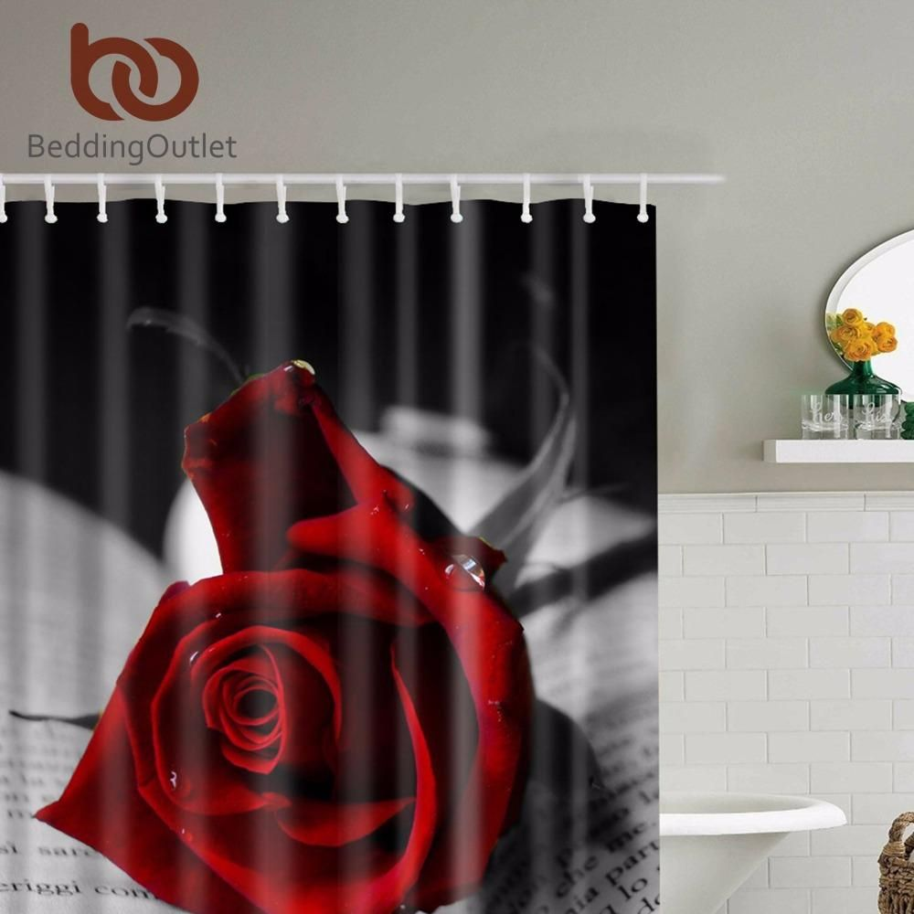 13 Stylish Concepts Of How To Craft Romantic Shower Curtains