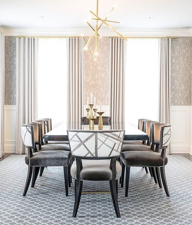 Obsessing Over The Details In This Relaxed Glamorous Dining Room
