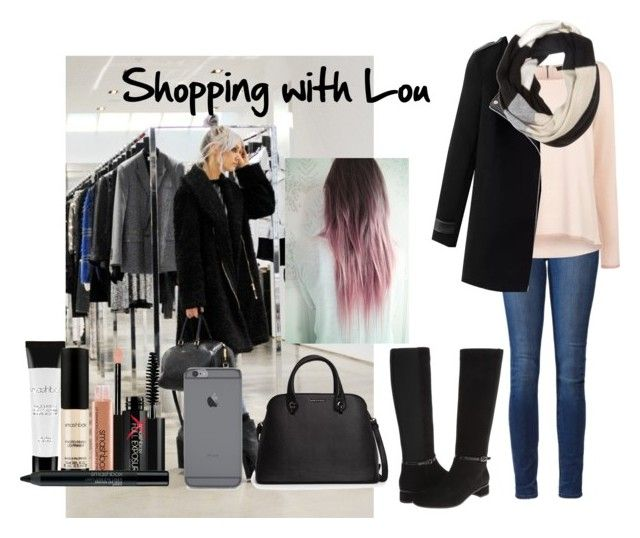 """Shopping with Lou"" by jessmedrano ❤ liked on Polyvore featuring Paige Denim, Smashbox, MANGO, Aquatalia by Marvin K., Coast, Chicnova Fashion, Kate Spade, women's clothing, women's fashion and women"