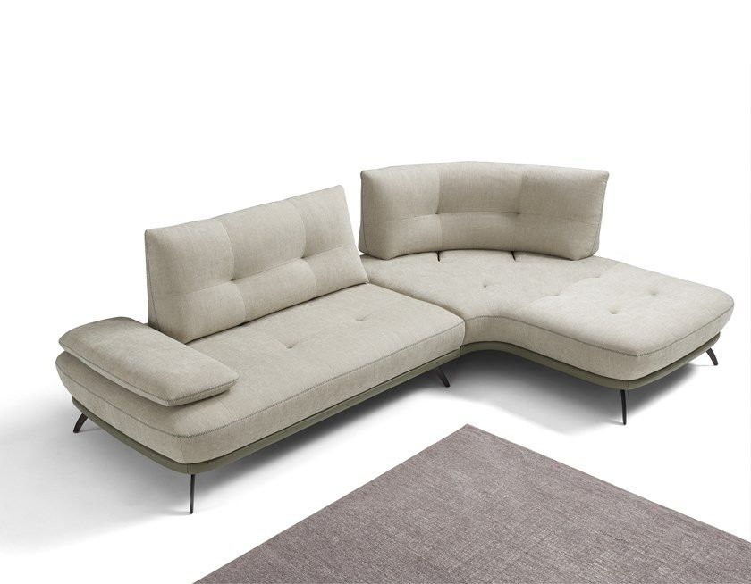 Corner sectional sofa bogart by max divani corner