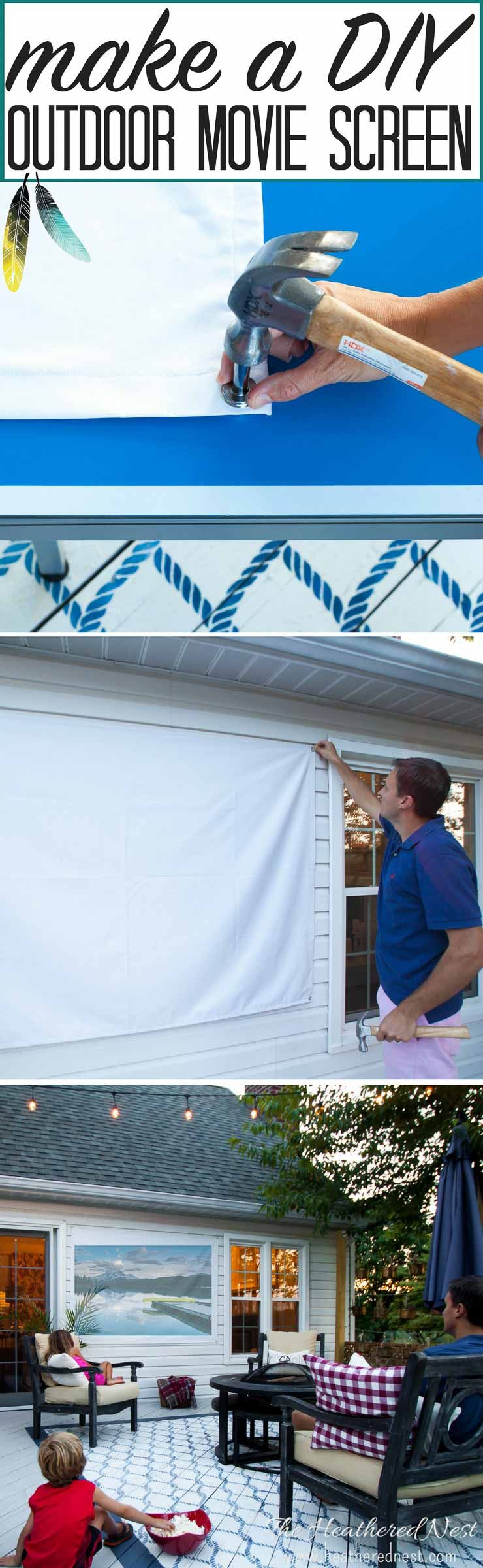 how to build an outdoor movie screen | outdoor movie screen, screens
