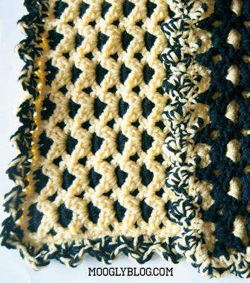 15 Most Popular Free Crochet Baby Blanket Patterns   Pinterest ...