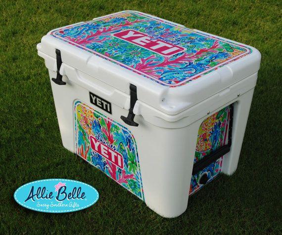 Yeti Roadie Ortundra Cooler Wrap Decal Custom Yeti Cooler Yeti Roadie Yeti Coolers Yeti Cooler