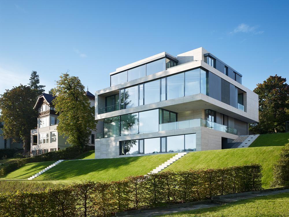 Moderne häuser neubau  Axthelm Architekten, Neubau eines privaten Wohnhauses, Potsdam ...