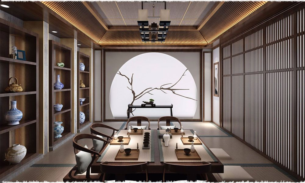 Traditional Chinese Tea Etiquette Teavivre Japanese Interior