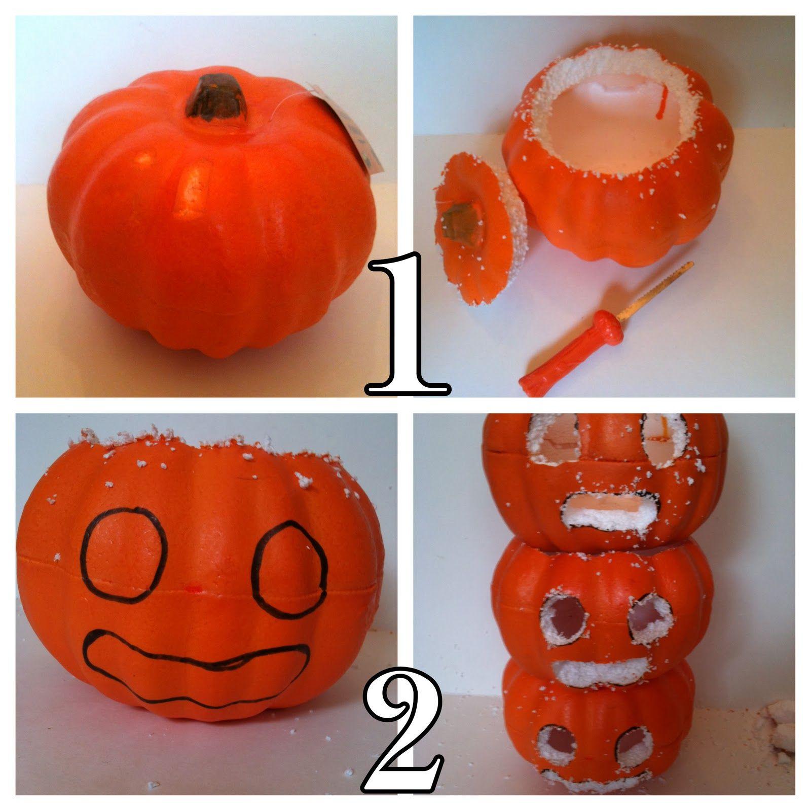 How to store pumpkins - Vintage Halloween