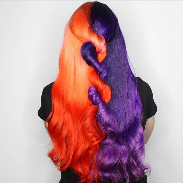 What Do You Think Of This Mix Color Hairstyle Hairbeauty