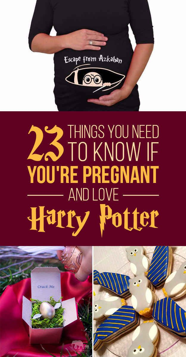 9363ef1ae33d8 23 Ways To Have The Ultimate Harry Potter Pregnancy | Lemon Drop ...