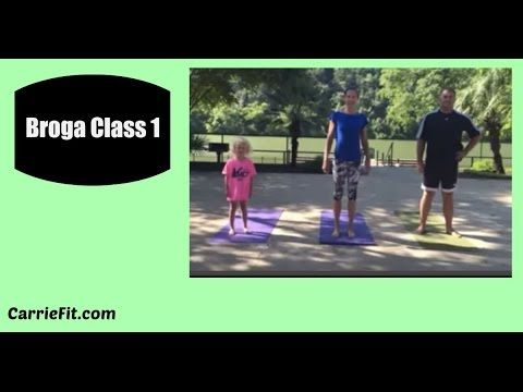Beginning Broga Class 1 Yoga for men (and everyone