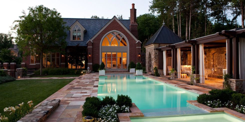 Just Wait Until You See The Wine Cellar! Interior Designer Jamie Beckwithu0027s Pool  House Is