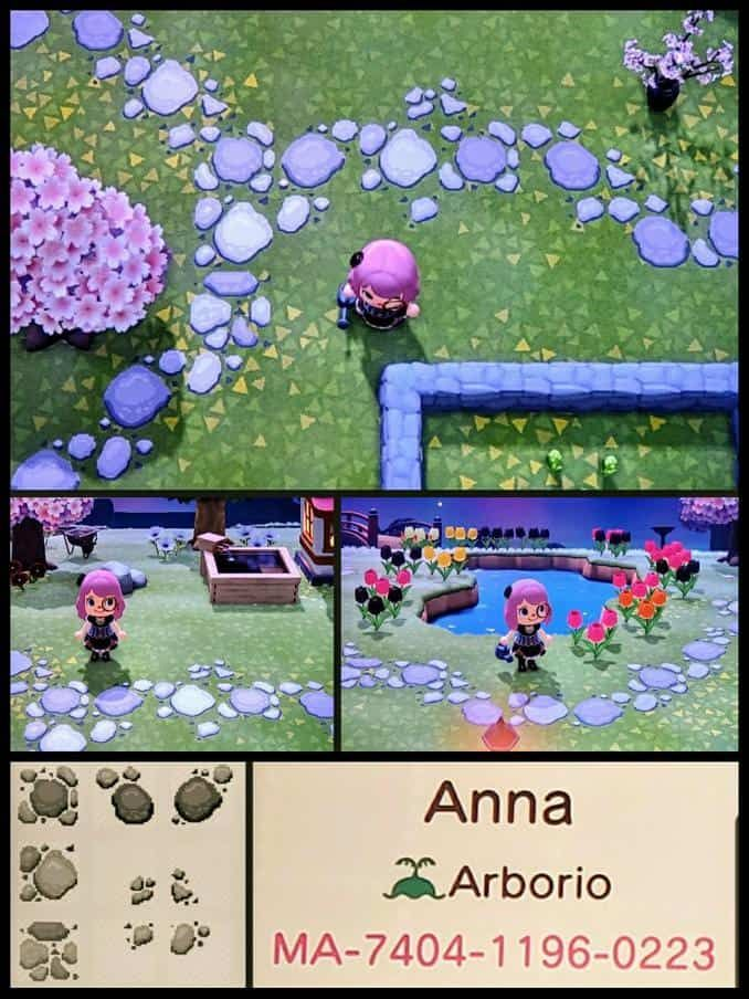 Animal Crossing New Horizons Custom Path Designs in 2020 ...