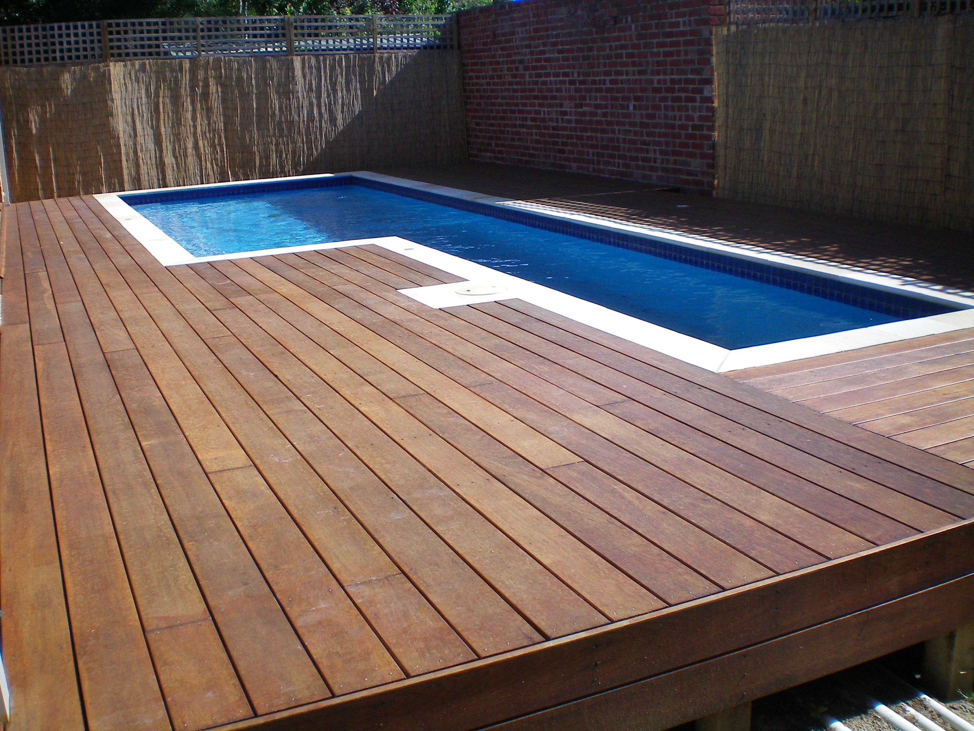 Swimming Pool Decking Melbourne Decking For Pools Pool Surround Decking Wood Pool Deck Wooden Deck Designs Wooden Pool