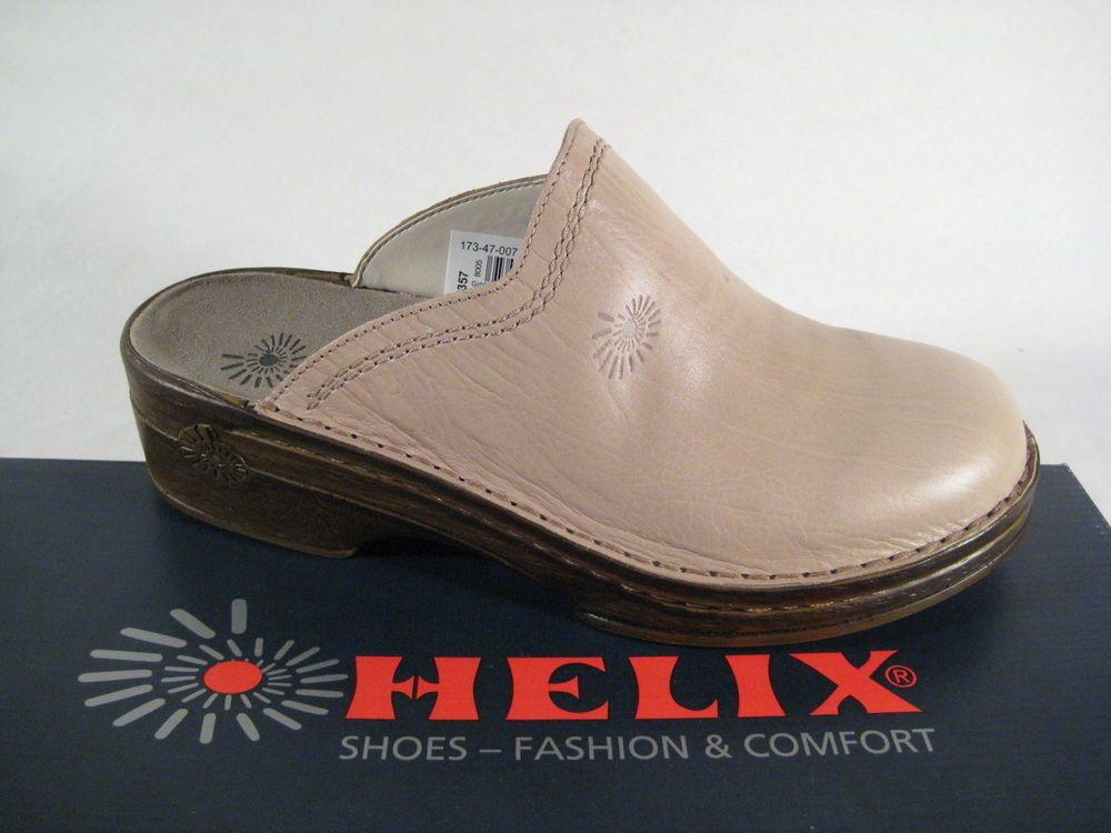 Helix   Pantolette Sandalen Hausschuhe Clogs Slipper beige