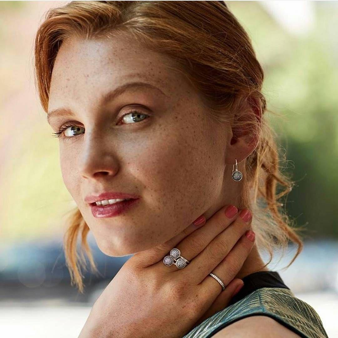 Pandora earrings, rings