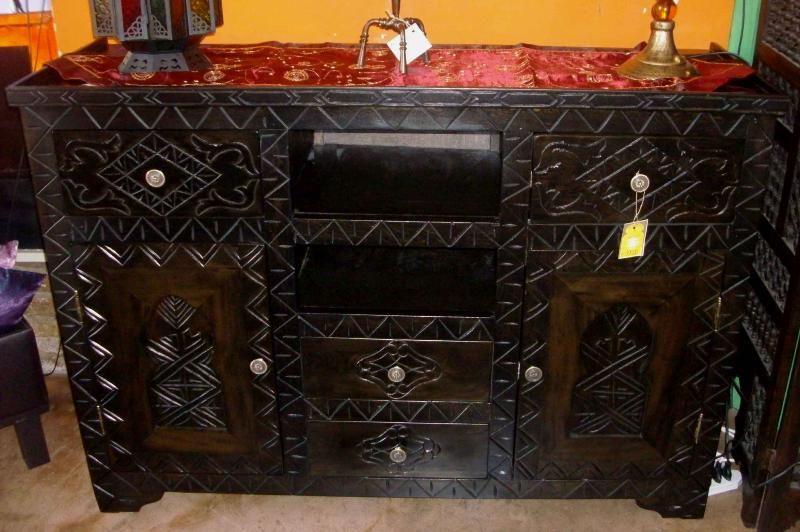 Buffet marocchino mobili marocchini in legno pinterest buffet - Mobili marocchini ...