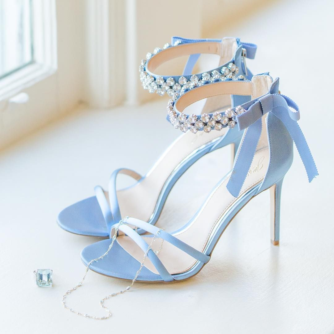 be02b1395 Whats your something blue for your wedding day  I love these gorgeous shoes  paired with