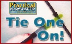 How To Tie Your Own Nocking Point | For years now, the brass nock has been standard equipment. And why not? It works well. But a tied-on nock works even better. It's less likely to slip or damage your serving, is easier to adjust, and even allows your bow to shoot a few feet-per-second faster because of it weighs less than a brass nock.
