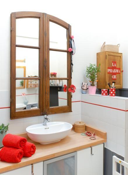 Transformer Une Vieille Fenetre En Miroir Miroir Fenetre Fenetre Relooking Meuble