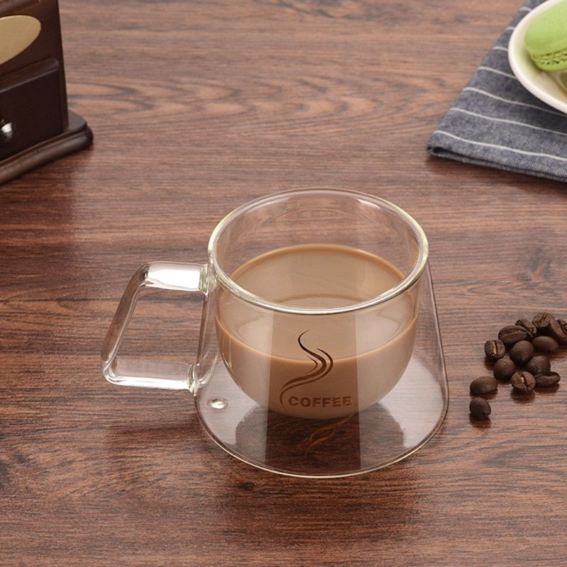 036 13 79 Ndash 036 15 79free Shipping Urijk Double Wall Mug Coffee Mug Heat Insulation Office Mugs Double C Glass Coffee Cups Mugs Double Wall Glass