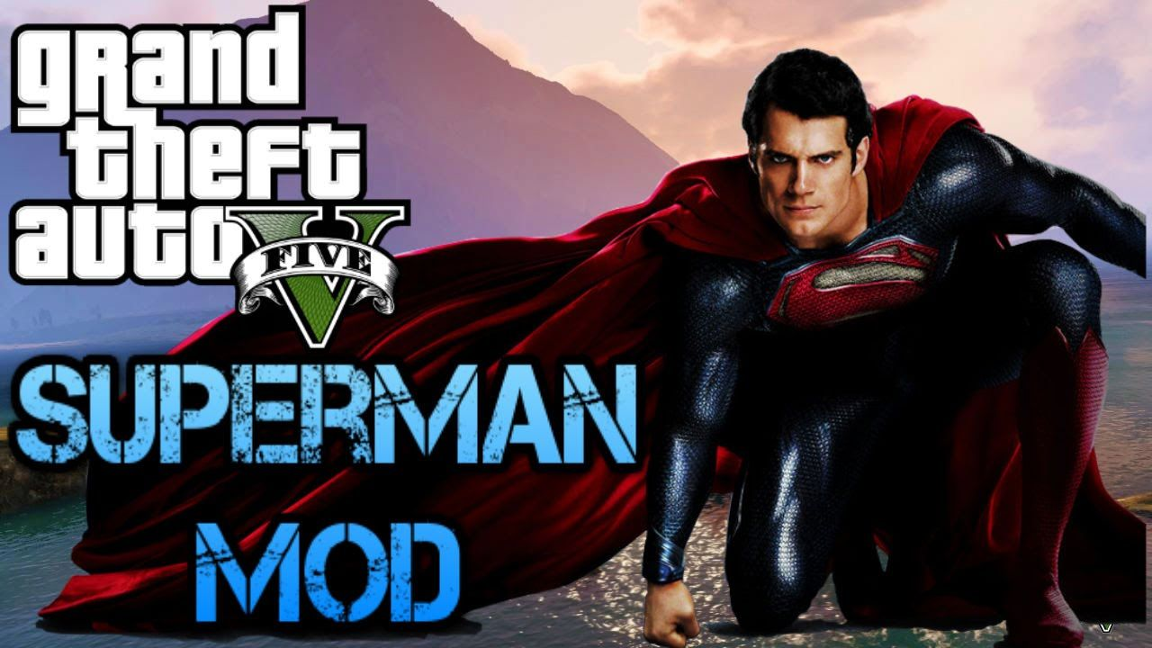 GTA 5 Mods PS3 - GTA Superman Mod