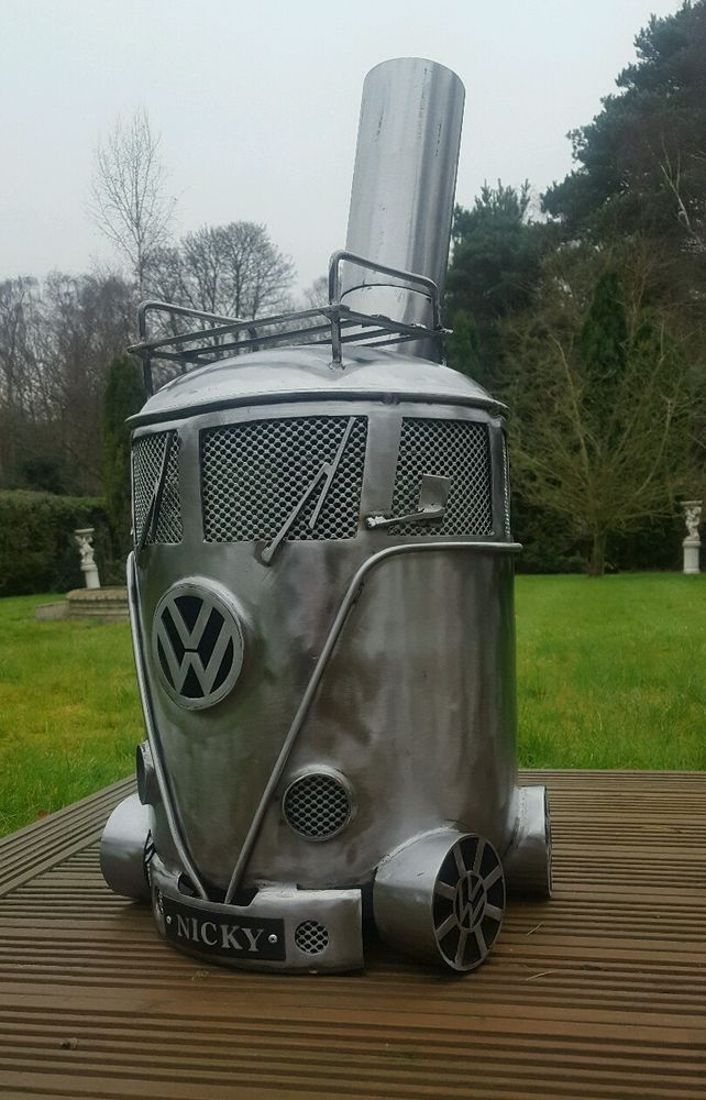 Vw Gas Bottle Woodburner/Stove/Chimnea /Patio Heater/Log