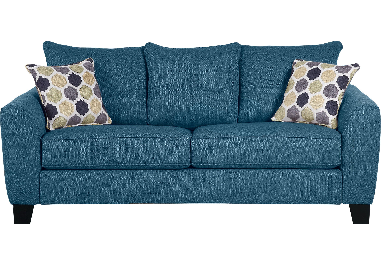 Bonita Springs Blue Sofa   Blue sofa, Blue sleeper sofa ...