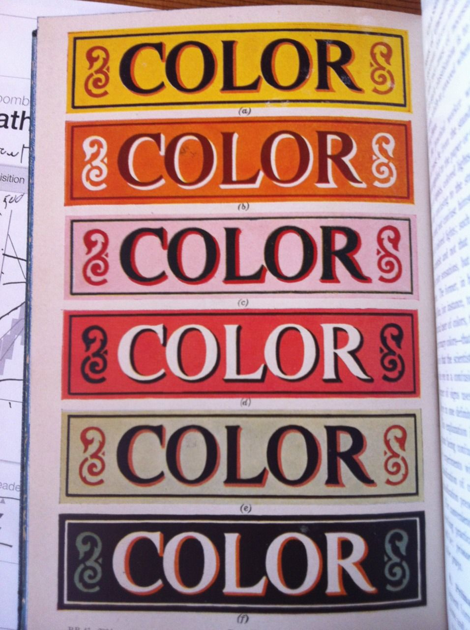 Color: from show card designing color schemes by E.L. Koller | Misc ...
