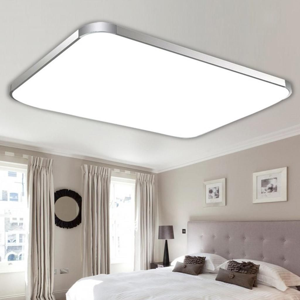Flush Mount Semi Flush Light Fixtures Ebay Home Furniture Diy Bedroom Light Fixtures Led Lighting Bedroom Led Panel Light