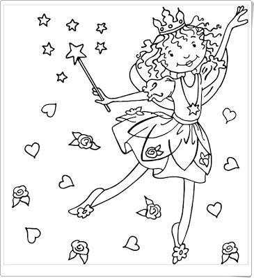 ausmalbilder lillifee | lillifee ausmalbild