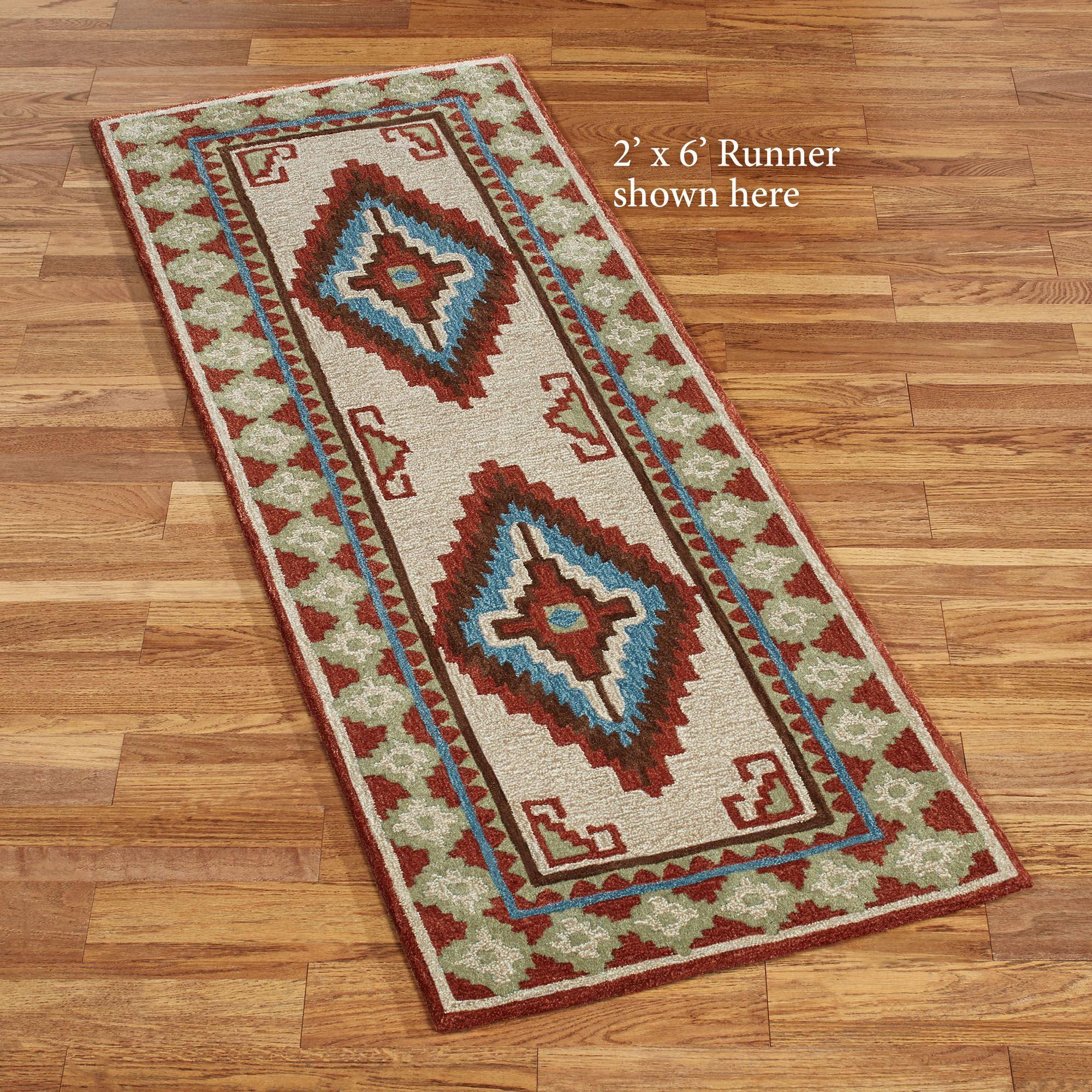 Diamond canyon southwest rug runner southwest rugs rugs