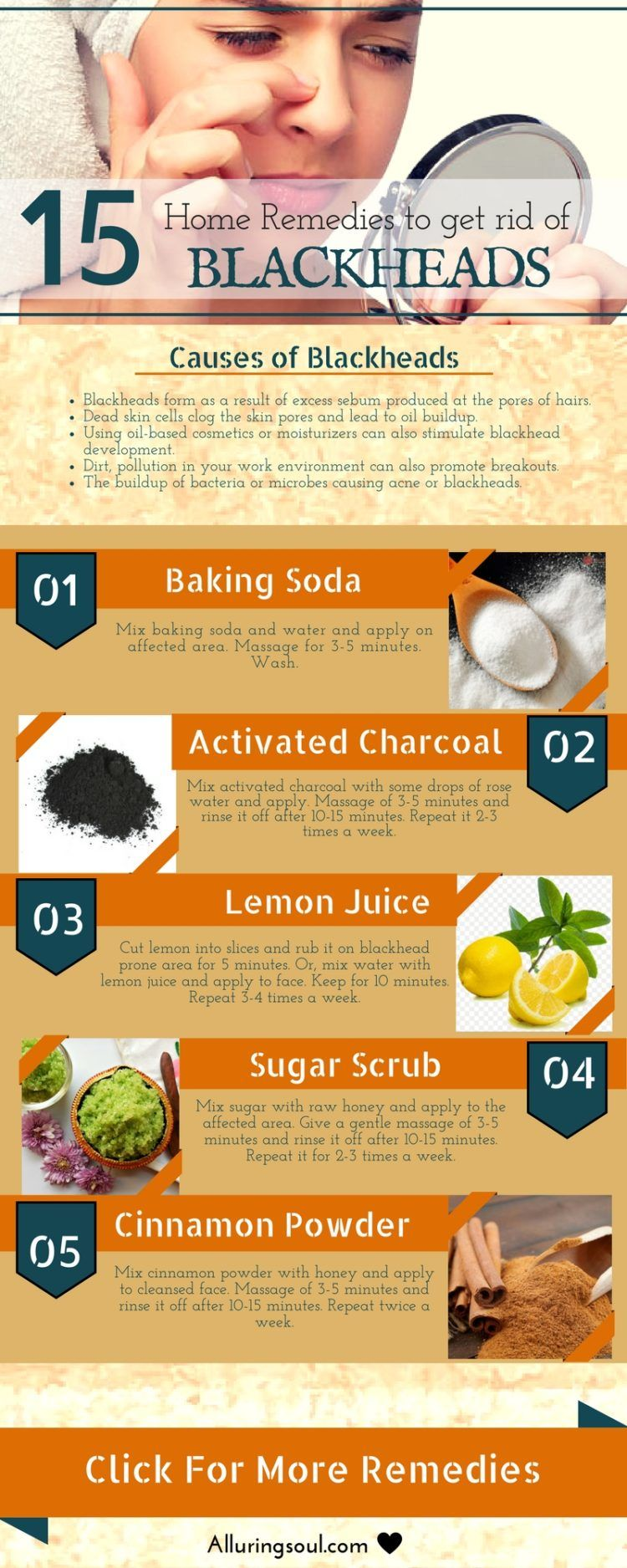 Photo of 15 Effective Home Remedies For Blackheads   Alluring Soul