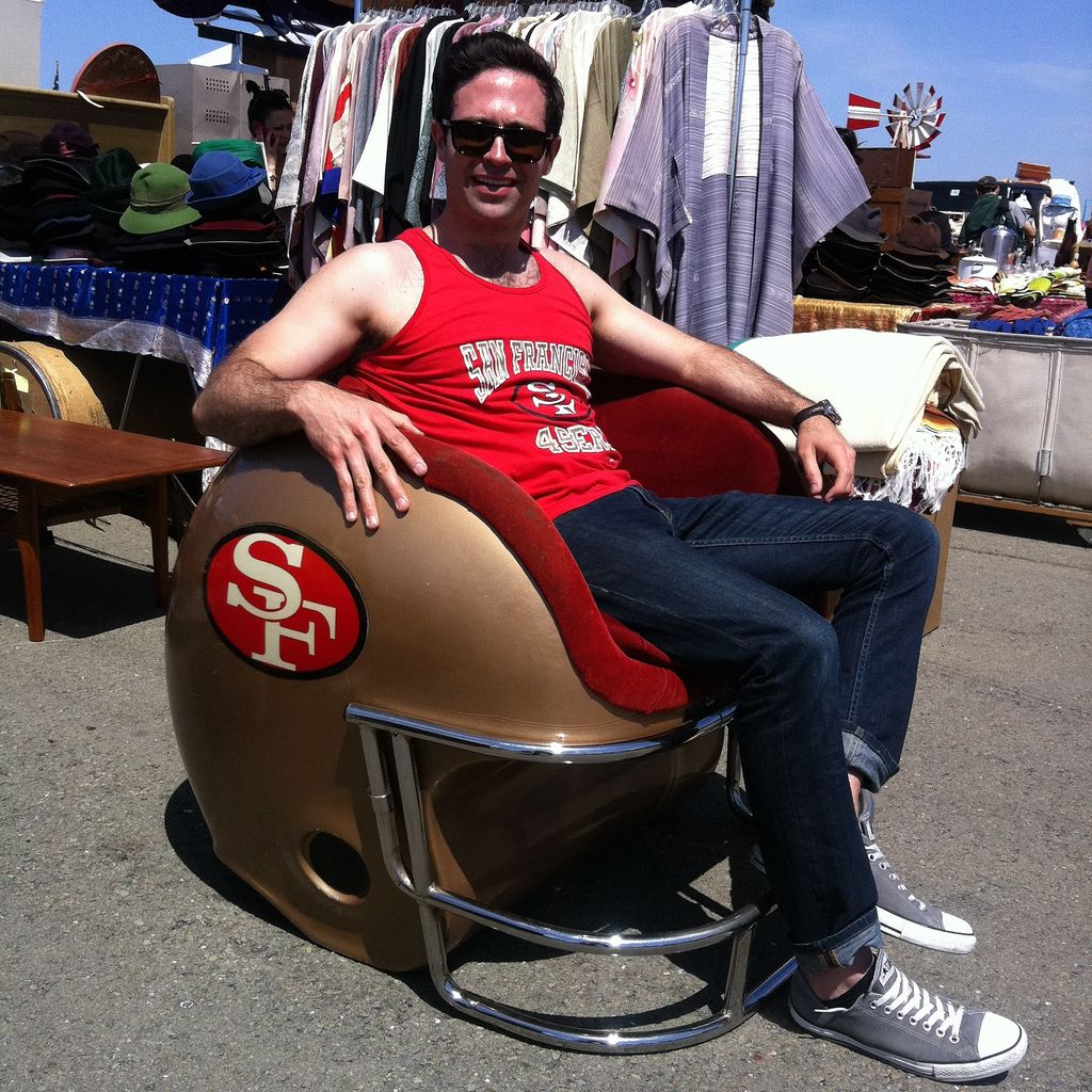 Pin By Chris Castoldi On Helmet Chairs 49ers Football 49ers Fans 49ers